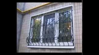видео Решетки на окна сварные кованые