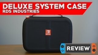 rds deluxe system case nintendo switch case review