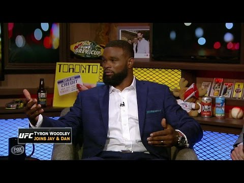 Tyron Woodley explains why he's not in the new Spider-Man movie