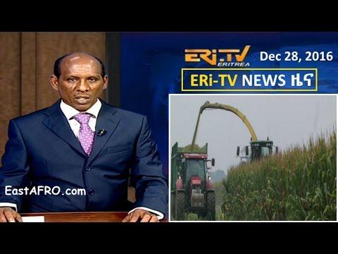Eritrean News (December 28, 2016) | Eritrea ERi-TV