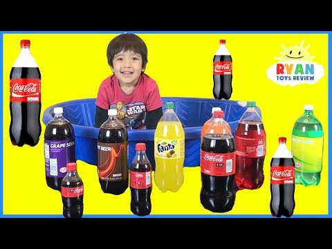 Learn Colors For Children Kids Toddlers Coca Cola And Ball Pit Show Learning Compilation