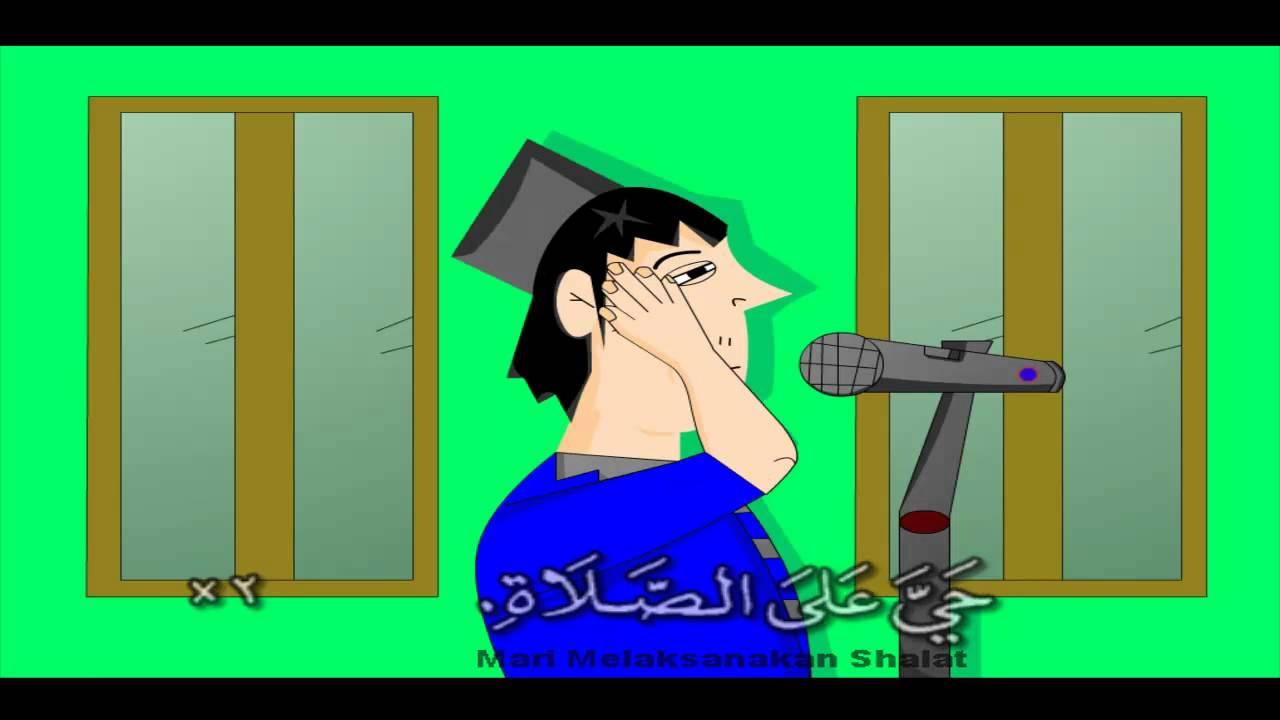 Gambar Kartun Berdoa Bergerak