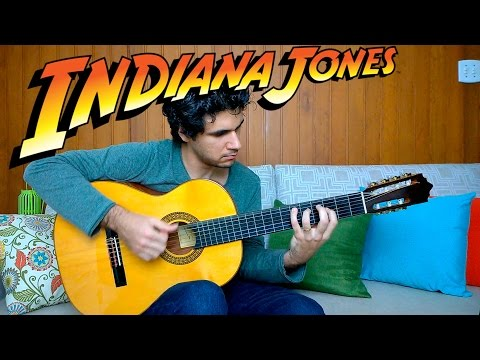 Indiana Jones theme song - Fingerstyle Guitar (Marcos Kaiser) #71