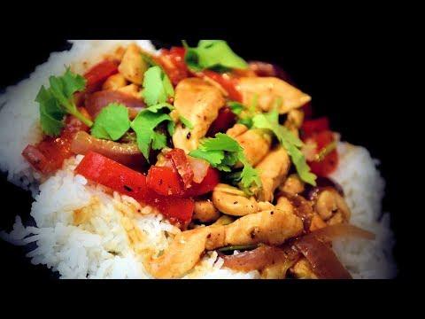 Stir-Fry Chicken In Black Bean Sauce (Chinese Style Recipe)