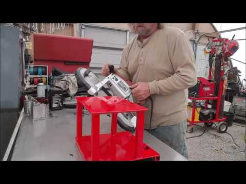 Buiding a Stand for Harbor Freight Band Saw