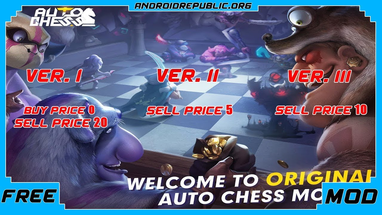 Exclusive - Auto Chess V0 4 0 [MOD] | Android Republic - Android