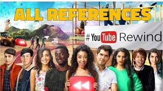 YouTube Rewind 2016 All References!