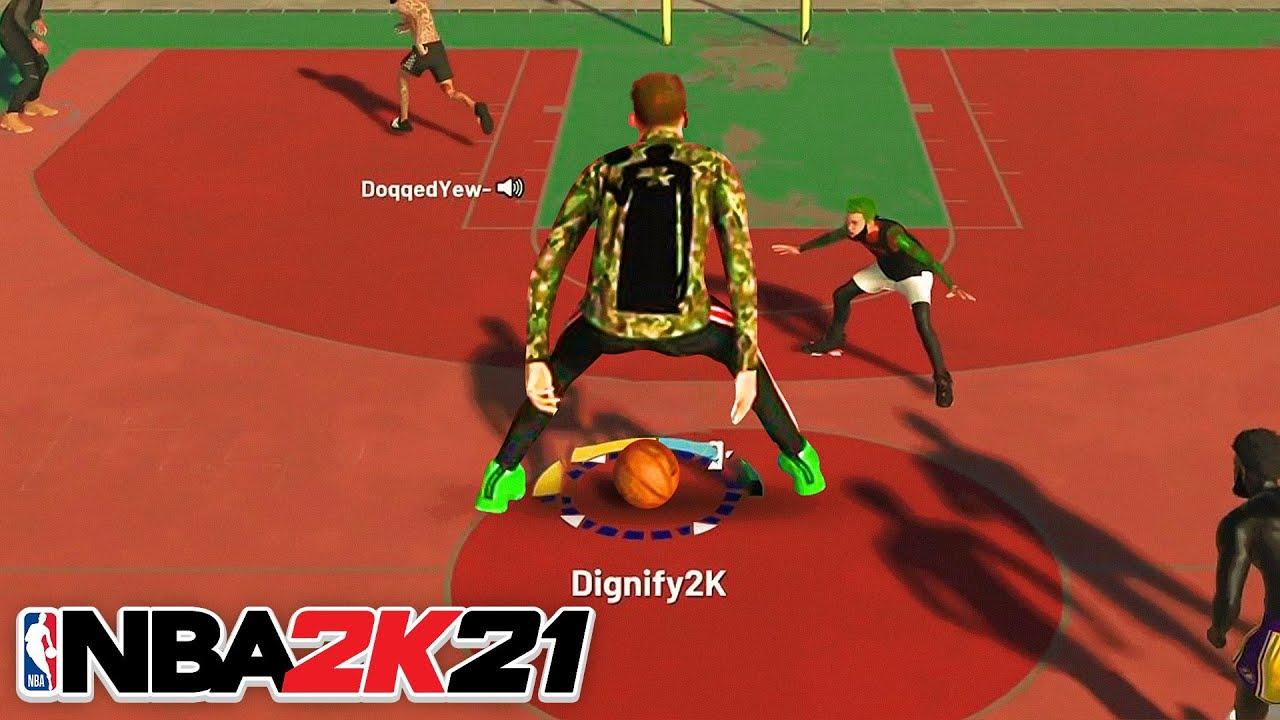 I Made a 7 FOOT POINT GUARD and BROKE NBA 2K21...