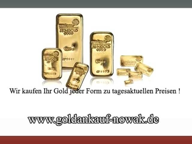 Goldankauf Juwelier Nowak