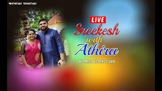 #LIVE | SREEKESH & ATHIRA | WED MEDIA WEDDING STUDIO | 25-01-2021 | 10:00 AM