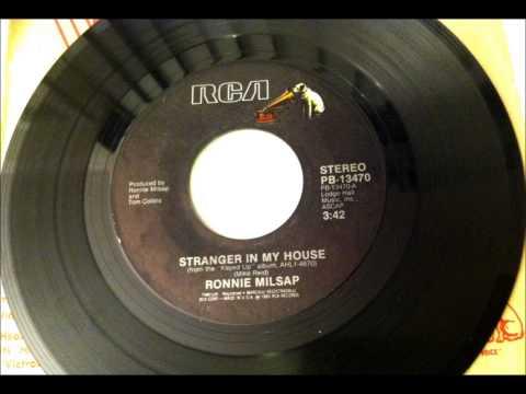 Stranger In My House , Ronnie Milsap , 1983 Vinyl 45RPM