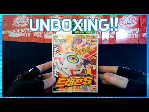 BeyGa - Unboxing ÉPICO!! Dragoon S (Storm)
