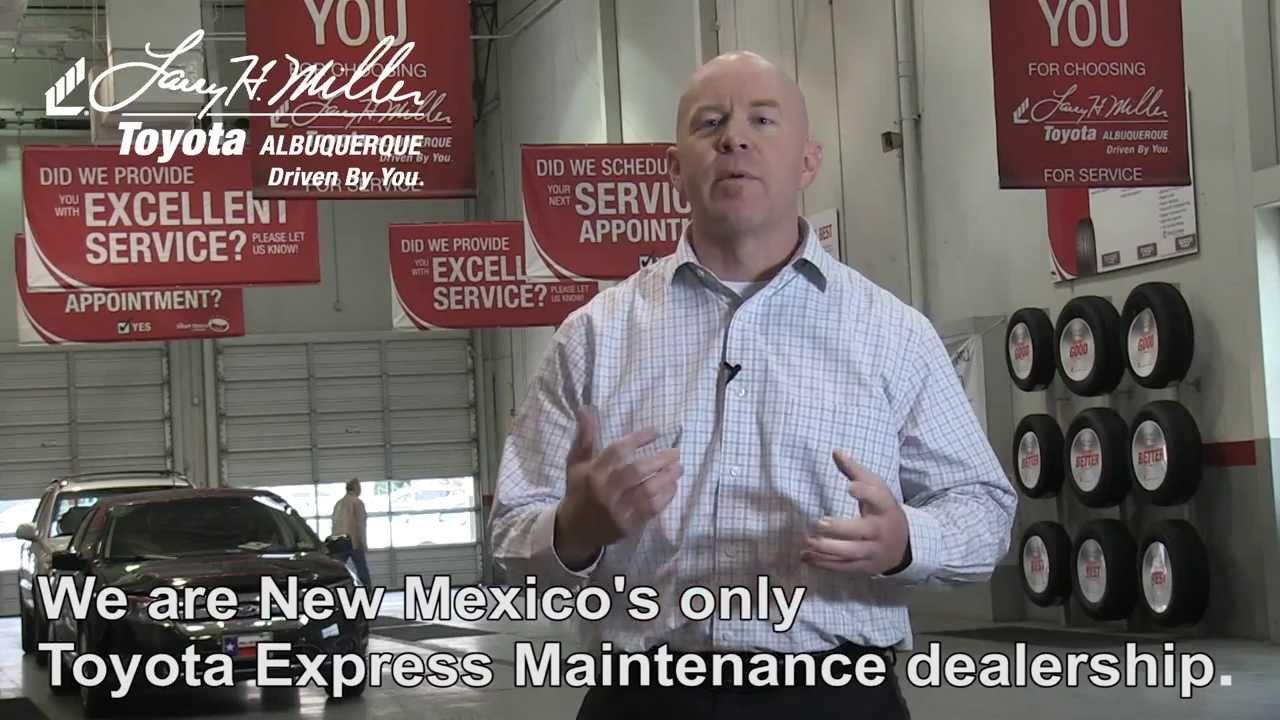 Toyota Service   Larry H Miller Albuquerque Toyota