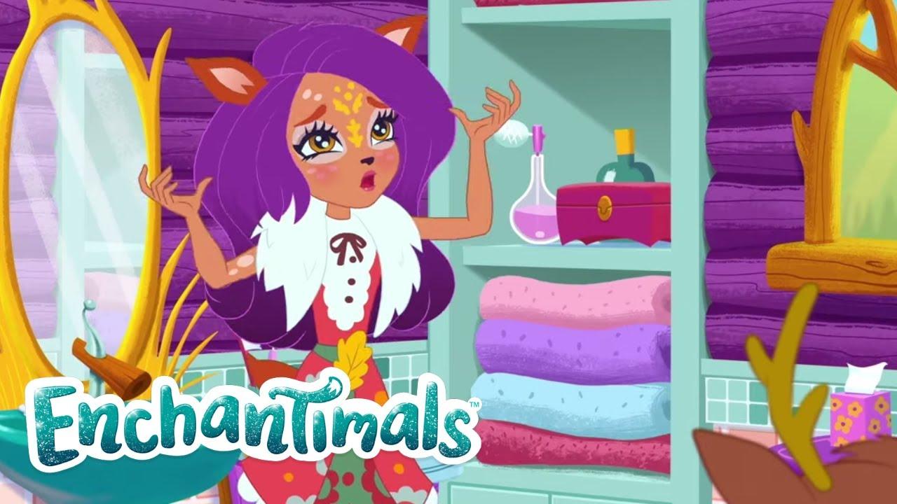 Download Enchantimals Latino 💜Historias de Everwilde: Caso de las cuernos perdidos 💜Dibujos para niños
