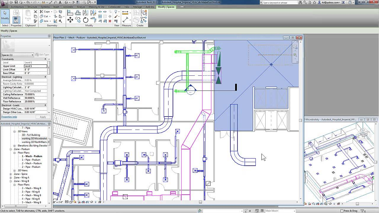Revit For Mep Duct Systems Physical Connections