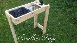 Repeat youtube video Building a simple homemade Blacksmith's Forge - Swallow Forge
