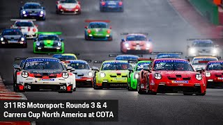 BEHIND THE WALL: Carrera Cup COTA | 311RS Motorsport Porsche 992 GT3 Cup Team