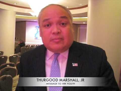 A Message From Thurgood Marshall, Jr.