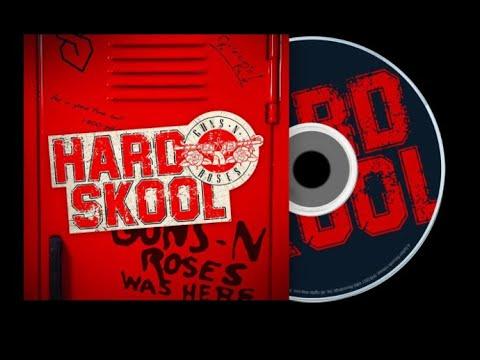"GUNS N' ROSES new 4 song EP ""Hard Skool"" announced, details released!"