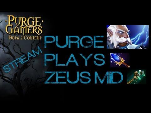 Dota 2 Purge plays Zeus