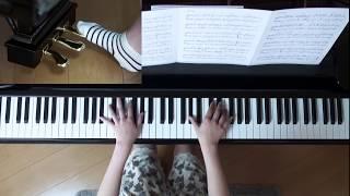 使用楽譜;ぷりんと楽譜・上級(採譜者:記載なし)、 2017年3月18日 録...