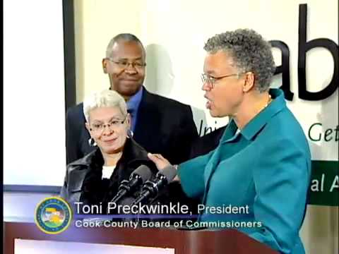 PRESIDENT PRECKWINKLE AND MAYOR EMANUEL ANNOUNCE CITY-COUNTY MERGER IN WORKFORCE DEVELOPMENT