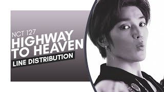 Gambar cover NCT 127 (엔시티 127) — Highway to Heaven LINE DISTRIBUTION