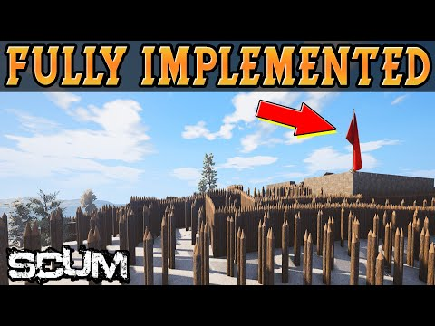 Base Claiming FULLY IMPLEMENTED! CRASHES FIXED! SCUM 0.2.45