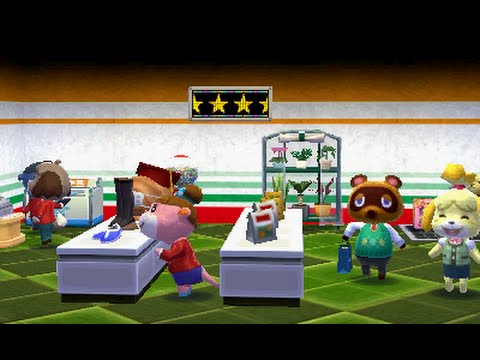 Animal Crossing: Happy Home Designer - Decorating the Shop - YouTube