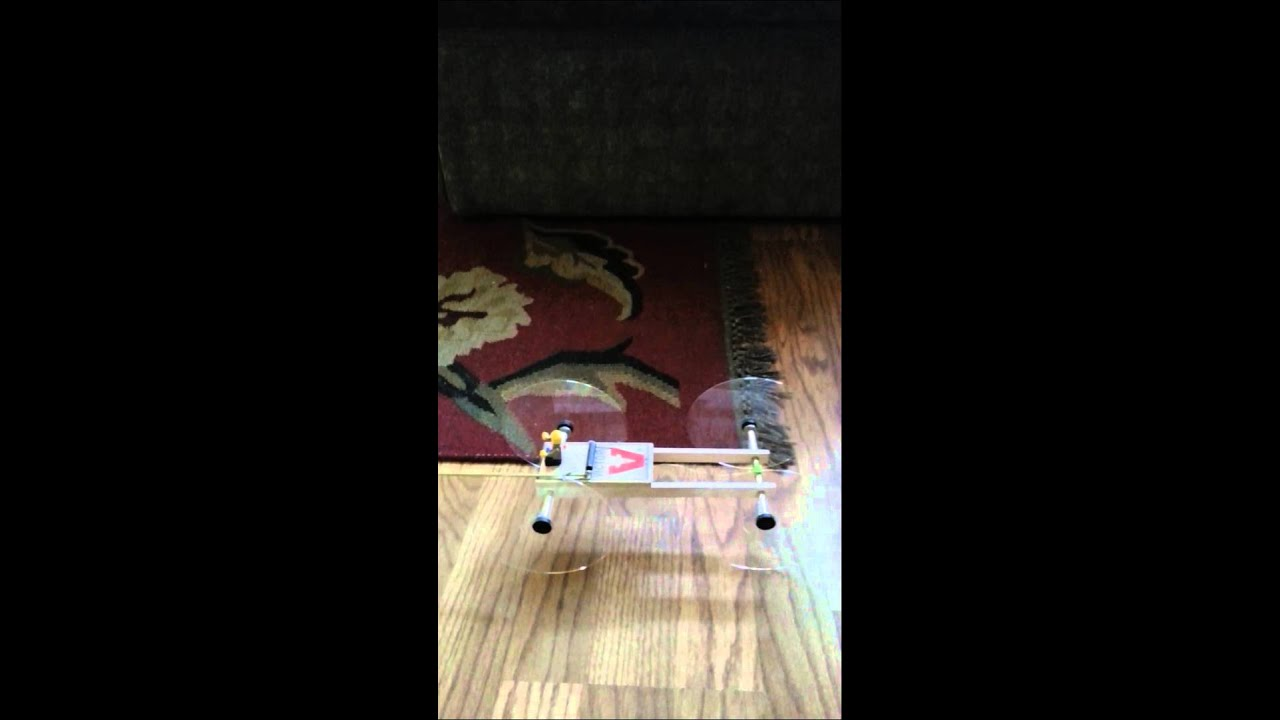 Mouse trap powered model car youtube
