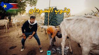 الاستحمام ببول البقر عند قبائل جنوب السودان 🇸🇸 South Sudan
