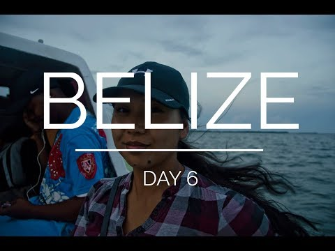 Belize day 6: watertaxi and arrival in San Pedro for snorkeling