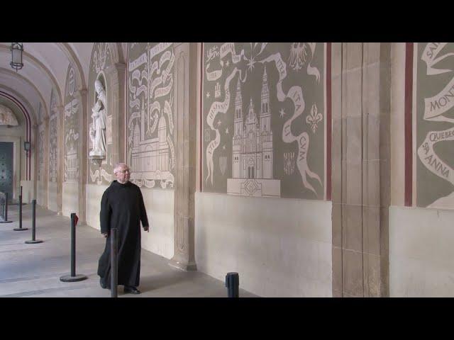 Descobrim Montserrat: Els esgrafiats de l'atri