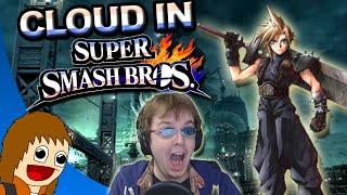 Cloud Announced for Super Smash Bros! (Live Reaction)