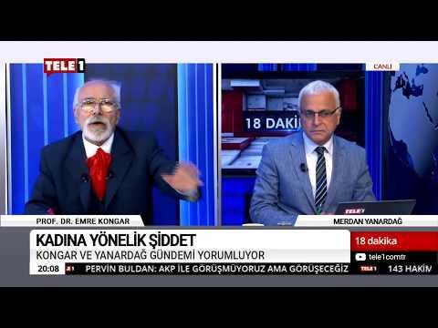 18 Dakika - (13 Kasım 2018) Merdan Yanardağ & Prof. Dr. Emre Kongar   Tele1 TV