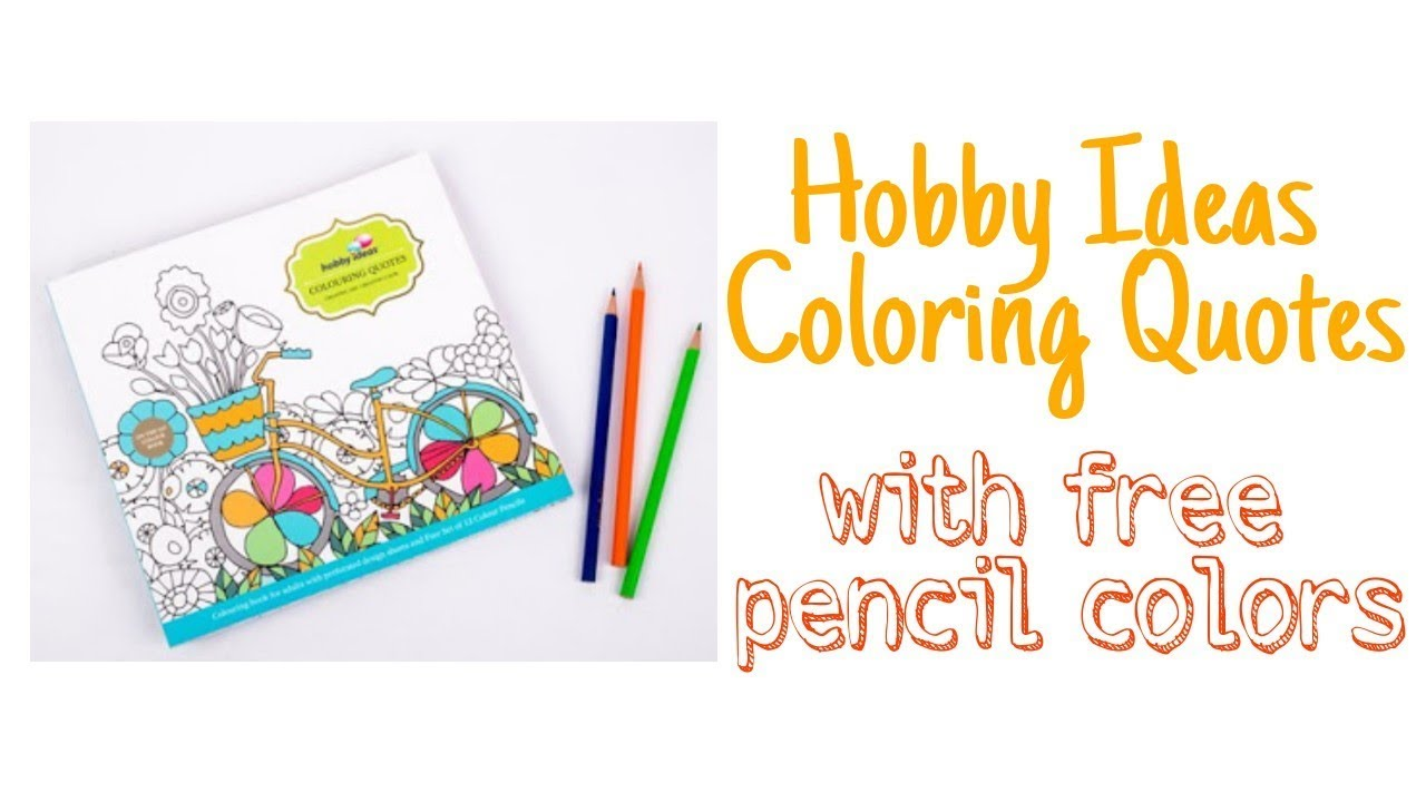 66 Hobby Ideas Coloring Book For Adults HD
