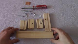 Как сделать столярные деревянные тиски своими руками.(Тиски́ (иногда называют тисами) — слесарный или столярный инструмент для фиксирования детали при различны..., 2015-03-10T17:19:51.000Z)