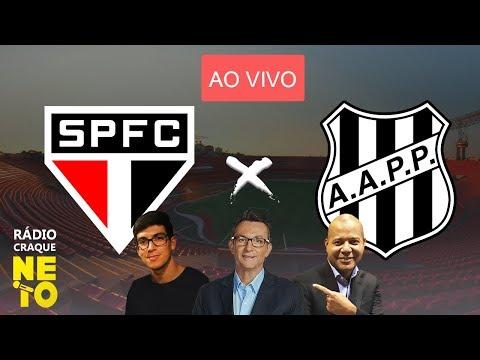 São Paulo x Ponte Preta | AO VIVO | Rádio Craque Neto - Paulistão 2020