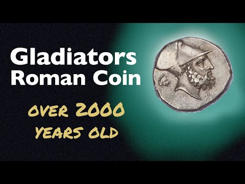 Gladiators on a Roman Coin - over 2000 years old.