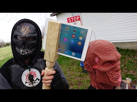 iPad Battle AXE! How to weaponize an iPad Air 2 Gold with GizmoSlip!