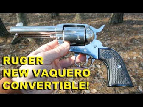 Ruger New Vaquero Convertible! 45LC/ACP Stainless Cowboy Six