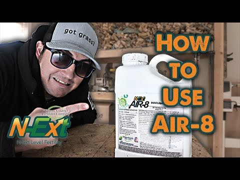 All About Liquid Aeration - How To Use N-Ext Air8  // N-Ext DIY Lawn Care Tips
