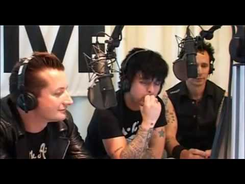 Green Day - 1LIVE radio interview , Cologne.