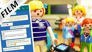 Playmobil Film Deutsch PAPA BETRÜGT MAMA ÜBER WHATSAPP? JULIAN + MAMA ZIEHEN AUS? Familie Vogel