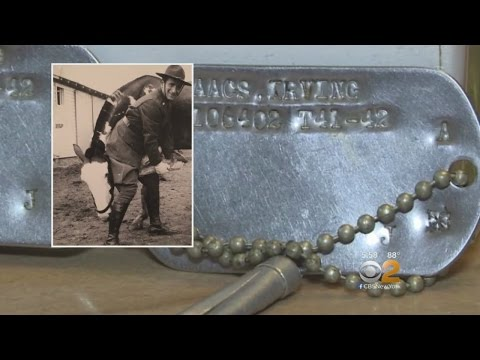 WWII Dog Tags Returned