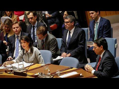 """EUA acusam ONU de """"hostilidade contra Israel"""""""