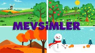 Mevsimleri Öğreniyorum - Mevsimler ve Aylar, Okul Öncesi Eğitim