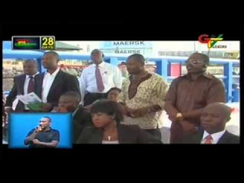Ghana receives utility vessel