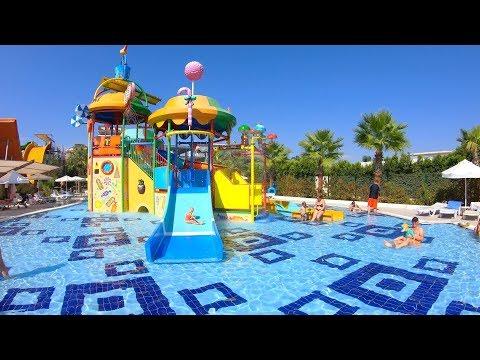Saturn Palace Resort in Antalya Türkiye (Waterslides + Hotel & Roomtour)