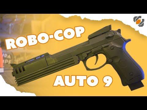 How to Make Robocop's Auto 9 Prop - Tutorial